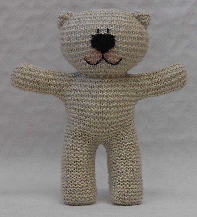 Peter the Teddy Bear Crochet Kit by Wool Couture | 700x636