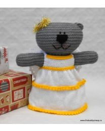 Wooly Crew Angel Bear pattern