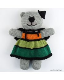 Wooly Crew Witch Bear pattern