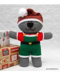 Wooly Crew Elf Bear pattern