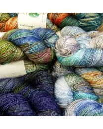 Comeragh Hand Dyed 4ply Sock Yarn