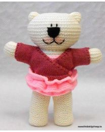 Wooly Crew Lily Ballet Bear pattern