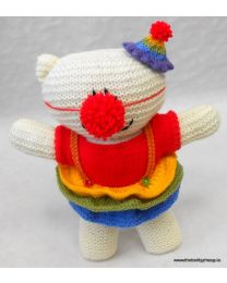 Wooly Crew Clara Clown Bear pattern