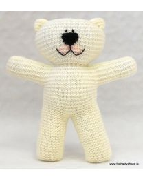 Wooly Crew Classic Easy Knit Bear pattern