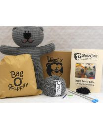 Grey Teddy Bear Kit