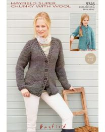Hayfield Super Chunky with Wool 9746