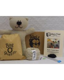 Parchment Teddy Bear Kit